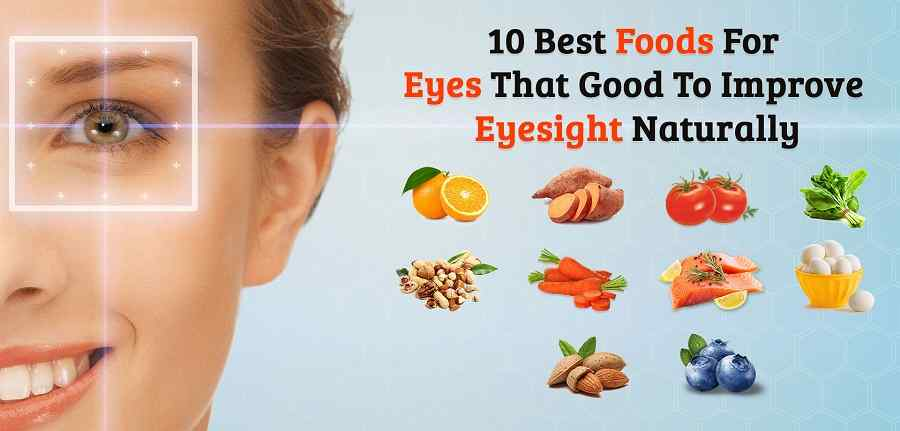 10 Best Foods for Eyes That Good to Improvement Eyesight Naturally